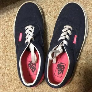 Other - Navy pink vans size 1.5